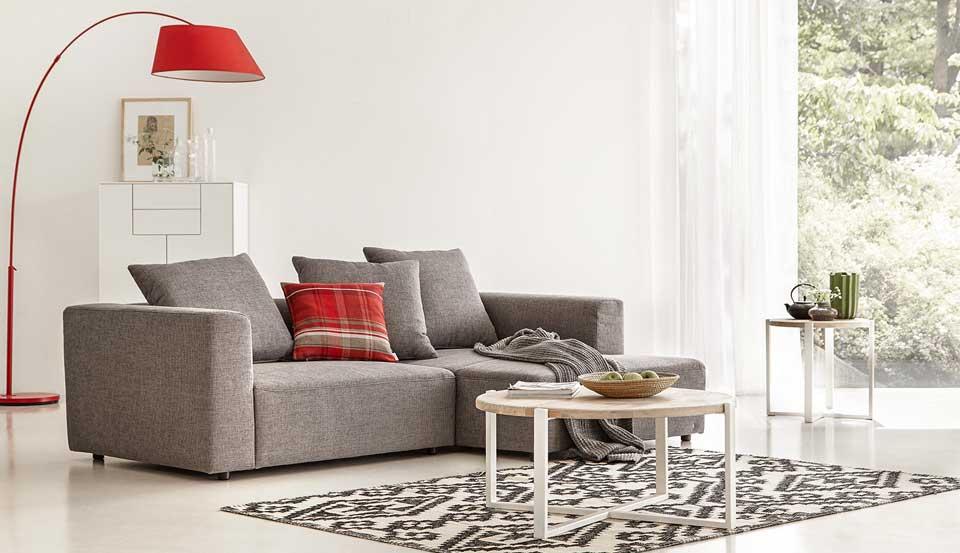 Schlicht und schön Urbane Sofas