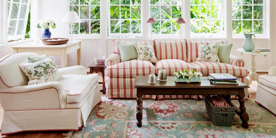 der landhausstil von maritim bis englisch. Black Bedroom Furniture Sets. Home Design Ideas