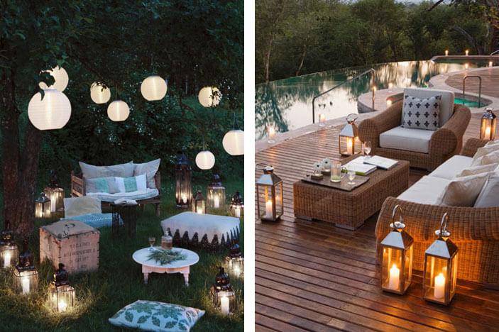 Decoratie voor tuin terras en balkon - Terras tuin decoratie ...