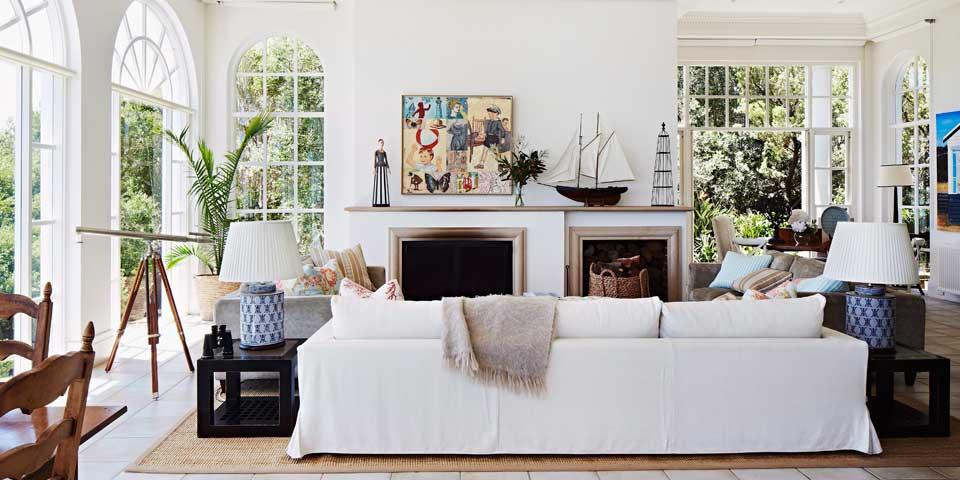 wohnen wie in den hamptons. Black Bedroom Furniture Sets. Home Design Ideas