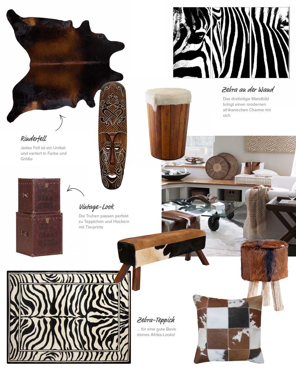 fernweh afrika tipps zum exotischen look. Black Bedroom Furniture Sets. Home Design Ideas